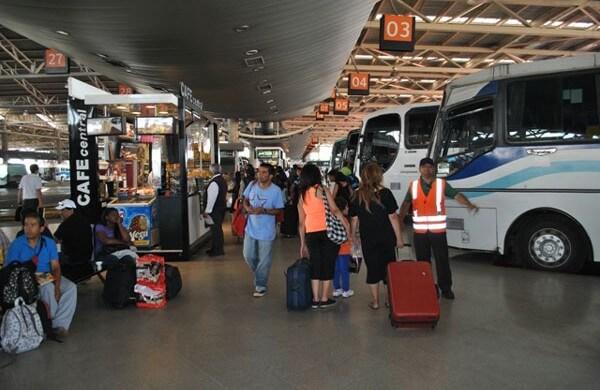 Bus-Terminal-San-Borja-Santiago