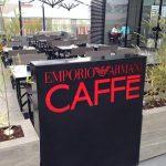 Café Emporio Armani in Parque Arauco Santiago