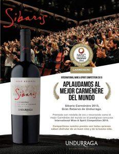 Carménère Sibaris - Undurraga Winery