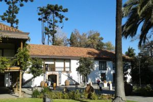 "Old Colonial House – now the ""Centro Cultural Las Condes"""