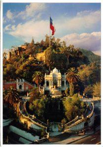 Cerro Santa Lucia - History