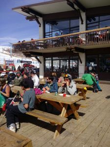 Coffee-bar in Valle Nevado