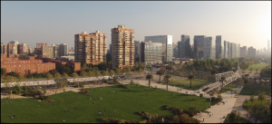 Parque Araucano & Bridge