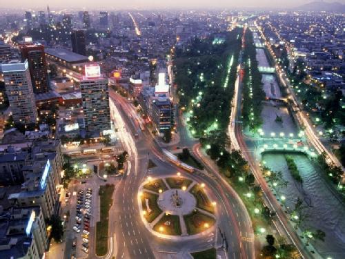Taxi Service Los Angeles >> Plaza Italia | SantiagoChile.com