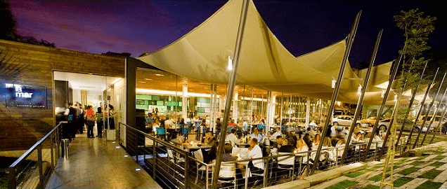 Restaurant La Mar Santiago Chile