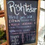 Restaurant Rishtedar Indian Restaurant - Santiago Chile