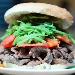 Sandwich Bar Fuente Mardoqueo Santiago Chile