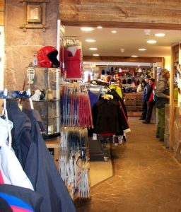 Shops in Valle Nevado