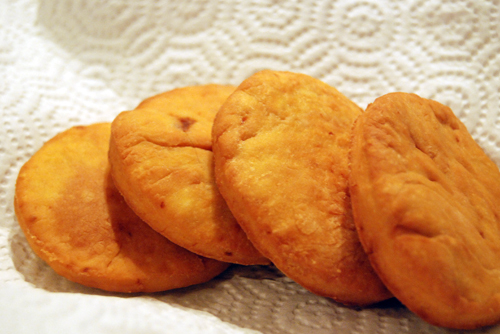 Sopaipilla is a quick bread to make whose main ingredients are pumpkin ...