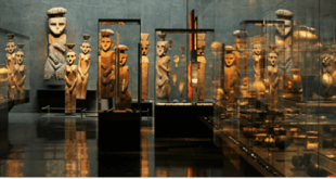 The Pre-columbian Art Museum in Santiago