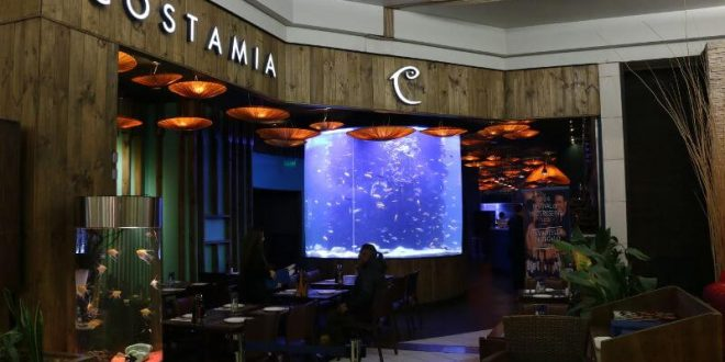 An Aquarium Restaurant