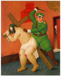 Botero´s Flogging of Christ